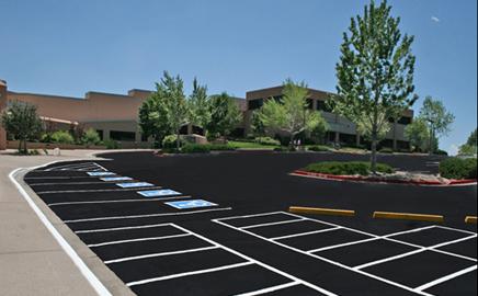 Commercial Parking Lot Maintenance